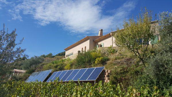 Le beausset (83): solaire thermique et solaire PV