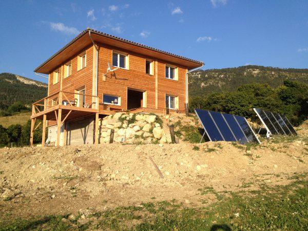 Maison bioclimatique Drome